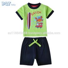 100% algodón súper suave de los muchachos 2 unid Set precio barato español bebé ropa
