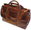 Vintage Collection Brown Genuine Leather Travel Bag / Classic Brown Real Leather Travel Duffel Bag / Travel Leather Bag