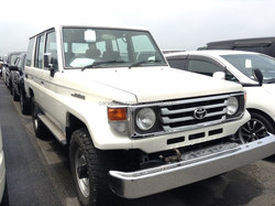GOOD CONDITION USED CARS FOR TOYOTA LAND CRUISER70 LX EXPORTED FROM JAPAN