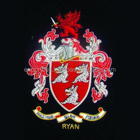 Blazer Coat of Arms Coat Arms Blazer Badges