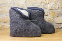 High Slippers MERINO WOOL Indoor slippers