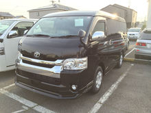 Genuine high quality Japanese second hand car TOYOTA HIACE in good condition
