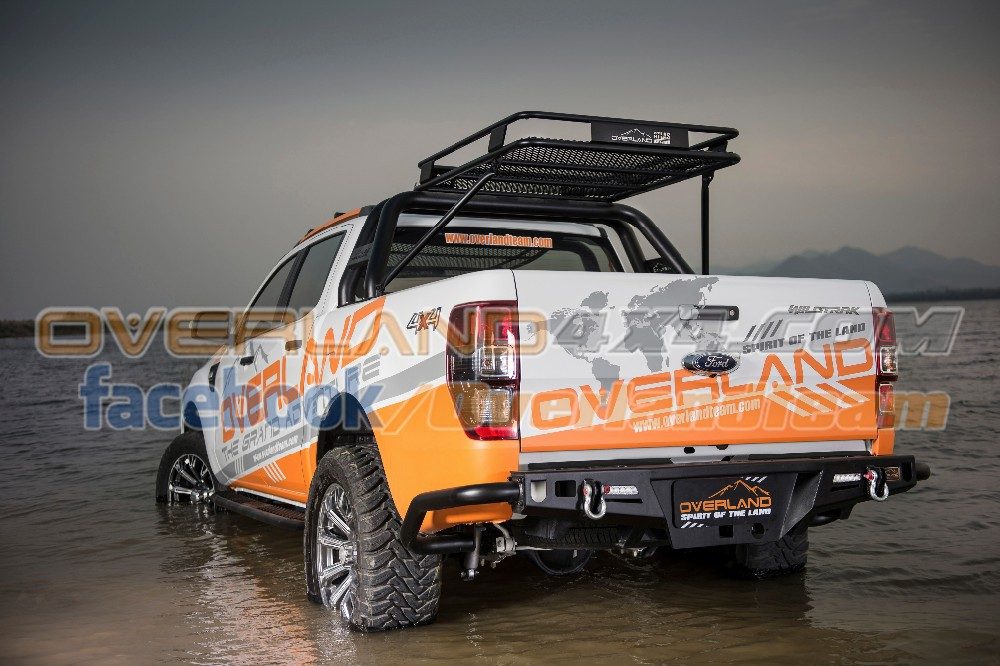 4x4 Accessories Rear Bumper K2 Next Trail For Ford T6