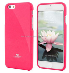 cell phone case TPU case Mercury Jelly case (Hot pink)