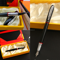 Hot Selling Best Price High Quality Durable Simple and Generous Design Fountain Pen Montmartre Black And for Red Ring Fine Nib