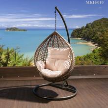 Oscilación de mimbre silla muebles - silla de jardín - Hangging egg Chair