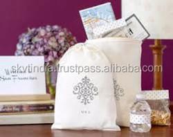 erode cotton fine cute fashionable packing drawstring shoe bag