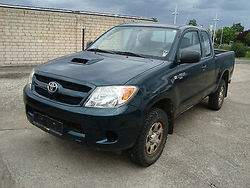 Used Toyota HiLux 2.5 D-4D 4x4 Extra Cab Pick Up - Left Hand Drive - Stock no: 13172