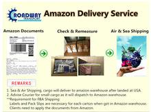 2015 Amazon Shipments Air Freight China to USA