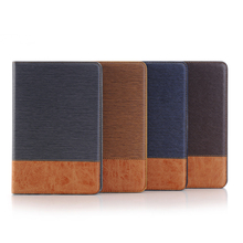 Ultra Slim smart flip stand leather cover case for apple ipad mini4