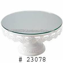Diseñador de la torta redonda del soporte para la boda