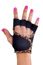 ESC Stick Palm Neoprene Weight Lifting Grips Training Gym Straps Gloves Hand G A