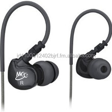 MEElectronics Sport-Fi M6 Noise Isolating In-Ear Headphones with Memory Wire (Black)