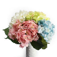 Artificial Silk Floral Flower Decor Elegant Fashion Hydrangea Wedding Party Decorative DIY Home Decor