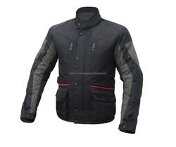 Men Textile cordura jacket/ Waterproof Motorcycle 600D Cordura Jackets