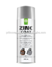 Zinc Cold Galvanize Spray Paint Silver PRIMO BRIGHT ZINC