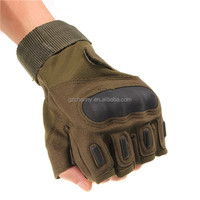 New Outdoor Half Finger Gloves Military Tactical Airsoft Cycling Knuckle Motorcycle 3colors