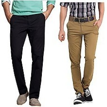 2015fashion-design best selling fit slim twill garment wash chino pants,Man's 12 pockets long cargo pant