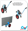 SELF LOCKING DOLLIES - Abaco SLAB DOLLY, tools for moving stone, construction, equipment, machinery, granite, glass, work site