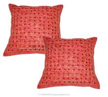 Decorative Sofa Cushion Cover Full Mirror Embroidery decorative pillow