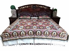 Wholesale cheap best selling india factory supply new patchwork bedsheet