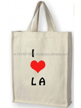 I Love Los Angeles Cotton Shopping Bag
