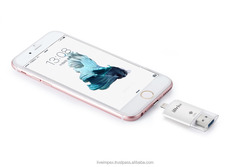 High capacity 64GB, 128GB extra storage otg iflash idrive lightening to i-phone/i-pad/smartphone/android mobile phone and pc