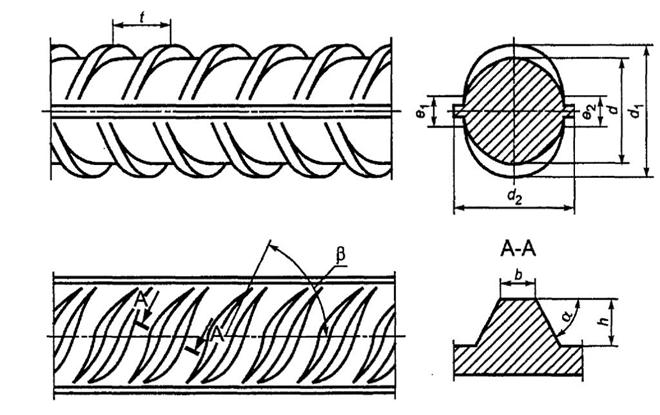 Стальной арматуры (арматура сталь) 10 мм
