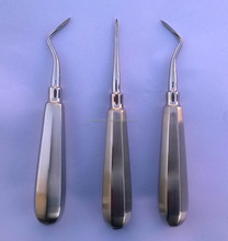 FRENCH STEEL AUTOCLAVABLE ROOT TIP DENTAL ELEVATORS RIGHT+LEFT+STRAIGHT/Best Quality Dental Instruments