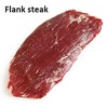 High quality beef flank steak and other primal cuts