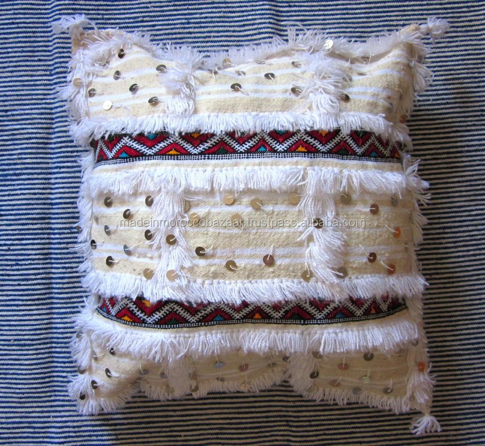grand marocaine main de mariage couverture oreiller couvre 50x50 housses de coussin id de. Black Bedroom Furniture Sets. Home Design Ideas