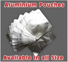 ziplock standing Silver aluminium pouch(AB 103)