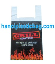 T-SHIRT PLASTIC BAG 90% INK COVERAGE