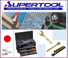Various type of SUPERTOOL adjustable spanner made in Japan