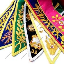 AASR Officers collar Senior Warden | AASR Officers collar Intended | AASR Officers collar Master of Ceremonies