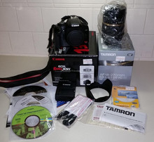Free Shipping for Brand new Original Canon EOS 5D_Mark_III 22.3 MP Digital SLR Camera / 2 Cameras / 4 lens