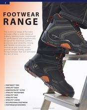 Safety Shoes Boots Wellingtons Riggers Sandals Footwear Range