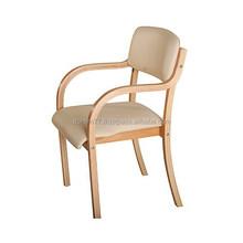 X 6002J Beech wood + Fabric/PU dining room chair PU/Leather leisure chair