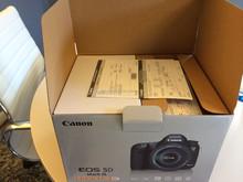 Free Shipping for Brand new Original Canon EOS 5D_Mark_III 22.3 MP Digital SLR Camera / 2 Cameras / 4 lens