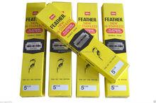 Feather Razor Blades Hi-Stainless Double Edge Razor Blades