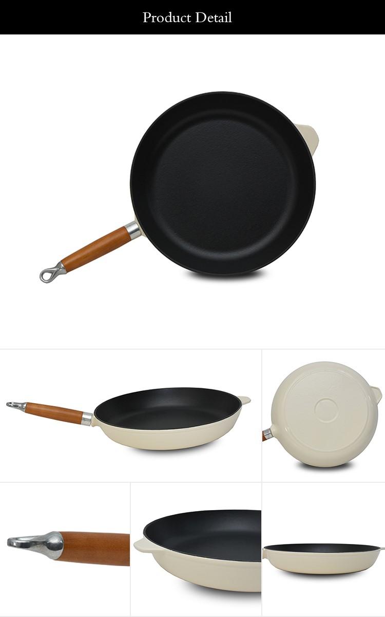 Moderne küche beschläge aluminium metallic beschichtung kochgeschirr bratpfanne