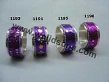 Fashion style pearls napkin ring for wedding table decorations
