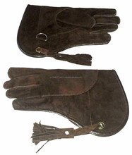 New Falconry Glove Suede Leather Double Layer 12 /New Falconry Glove Single Layer Suede Leather 12 Inches Long/ Falconry Gloves