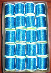 Bright Flashing Fly Tying Materials Round Tinsels on Spools