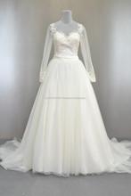 Elegance long sleeve wedding dress by Lis Bridal