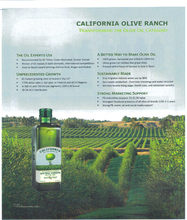 CALIFORNIA OLIVE OIL
