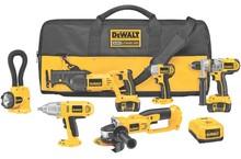 New Deal For Dewalt DCK675L 18 Volt Heavy-Duty XRP Cordless 6-Tool Combo Kit