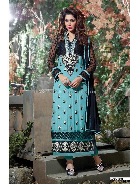 Excepcional El Modelo De Costura Salwar Kameez Bandera - Manta de ...
