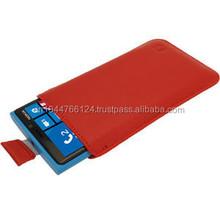 Decent PU Leather Mobile Case / Supplier Of Faux Leather Mobile Cover / Red Hot Sale Of PU Leather Mobile Case
