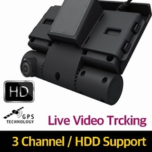 OTA Mobile DVR for CAR, 3Channel HD video recording, Live Streaming Video